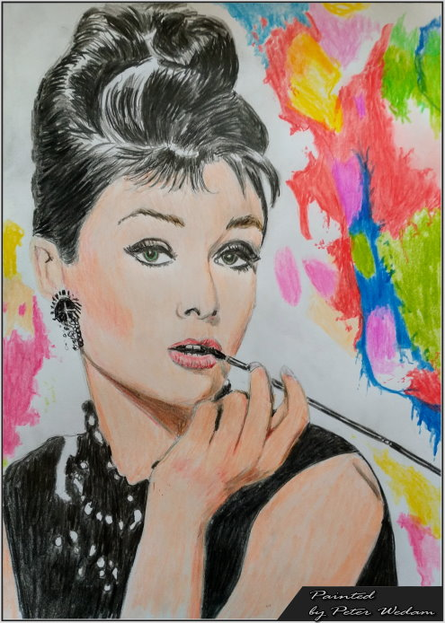 Audrey Hepburn-by PW-mini